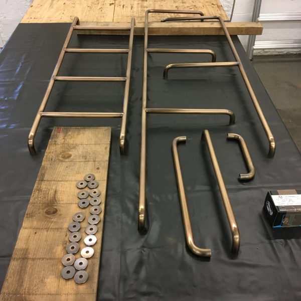 Bespoke Brass for Bunk Beds